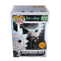 Rick & Morty Figurine Funko Pop Weaponized Rick ( chase )
