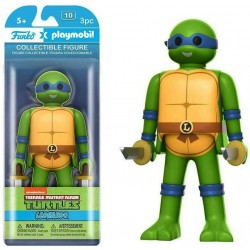 Les Tortues Ninja Funko x Playmobil Vinyl figurine Leonardo 15 cm