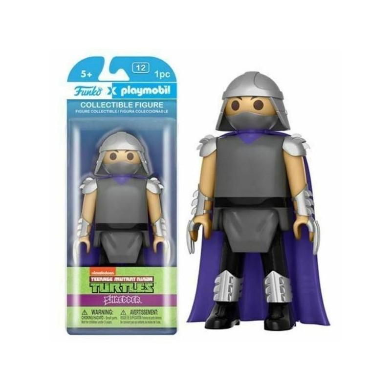 Les Tortues Ninja Funko x Playmobil Vinyl figurine Shreder 15 cm Funko Les Tortues Ninja