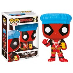 Marvel Comics POP! Vinyl Bobble Head Deadpool Shower Cap & Ducky 9 cm