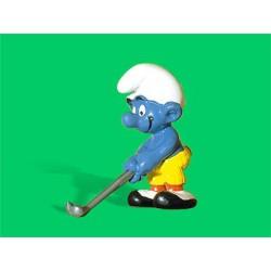 Les Schtroumpfs Figurine Schleich 20055 Le Joueur De Golf
