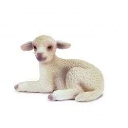 Figurine Animaux Schleich  : 13284 Agneau Couché