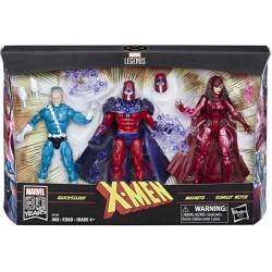 Marvel Legends Tri-Pack 80TH Quicksilver Magneto & Scarlet Witch 15 cm