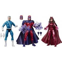 Marvel Legends Tri-Pack 80TH Quicksilver Magneto & Scarlet Witch 15 cm