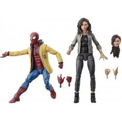 Marvel Legends Pack Spider-man Homeconing Dpider-man & Marvel's MJ