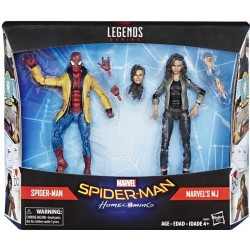 Marvel Legends Pack Spider-man Homeconing Dpider-man & Marvel's MJ