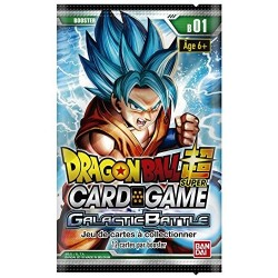 Dragon Ball Z Booster 12 cartes Série 1 Version Française