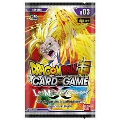 Dragon Ball Z Booster 12 cartes Série 3 VF Les Mondes Croisés