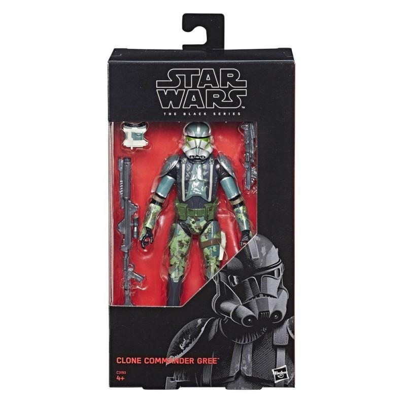 Star Wars Episode III Black Series figurine Clone Commander Gree 2017 Exclusive 15 cm