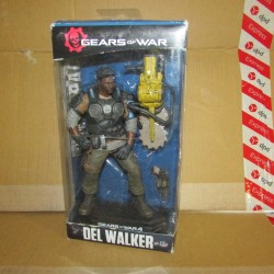 PBA - Figurine Gears Of War Del Walker  Mcfarlane Boites Abîmées en Promos
