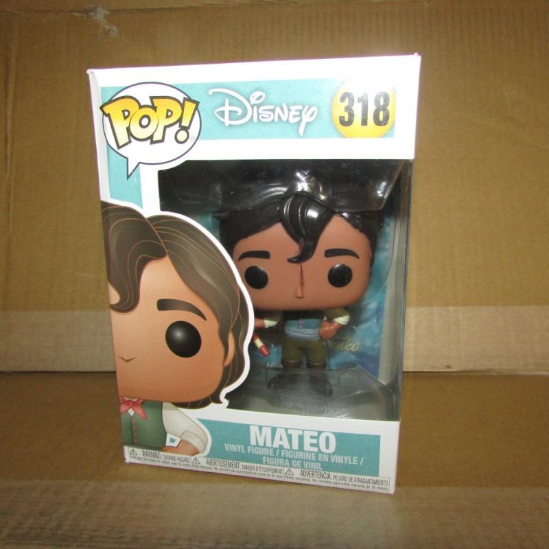 PBA - Funko Pop Disney 318 Mateo  Funko Boites Abîmées en Promos