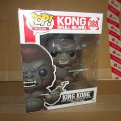 PBA - Figurine Funko Pop 388 King Kong 15 cm  Funko Boites Abîmées en Promos