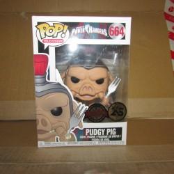 PBA - Figurine Funko Pop Power Rangers Pudgy Pig Exclusive  Funko Boites Abîmées en Promos