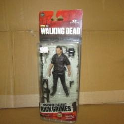 PBA - Walking Dead Figurine Rick Grimes 13 cm  Mcfarlane Boites Abîmées en Promos
