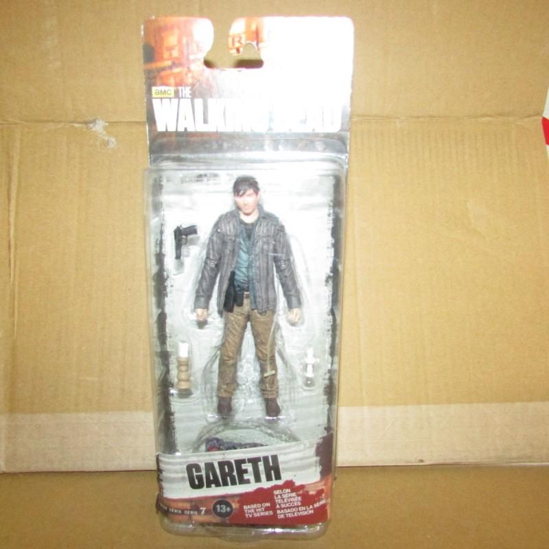 PBA - Walking Dead Figurine Gareth 13 cm  - 2 Mcfarlane Boites Abîmées en Promos