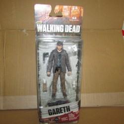 PBA - Walking Dead Figurine Gareth 13 cm  - 3 Mcfarlane Boites Abîmées en Promos