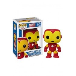 Marvel Comics POP! Vinyl Bobble Head Iron Man 10 cm
