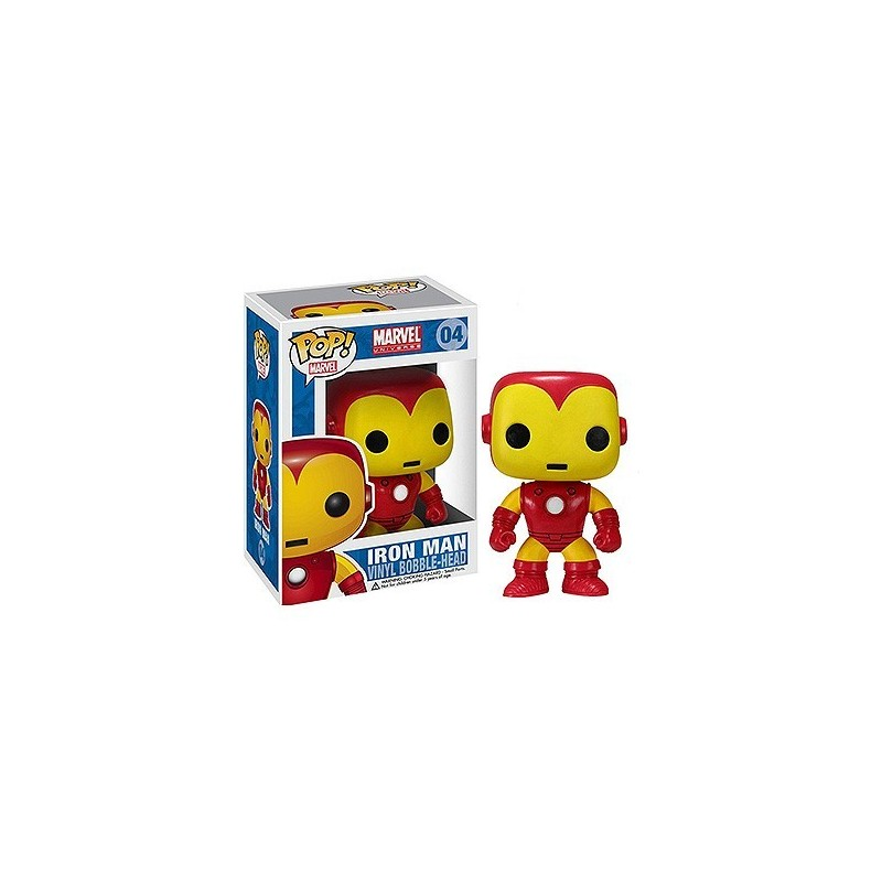 Marvel Comics POP! Vinyl Bobble Head Iron Man 10 cm