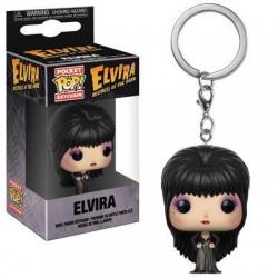 Elvira maîtresse des ténèbres porte-clés Pocket POP! Vinyl Elvira 4 cm