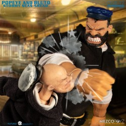 Popeye figurines 1/12 Popeye & Bluto: Stormy Seas Ahead Deluxe Box Set