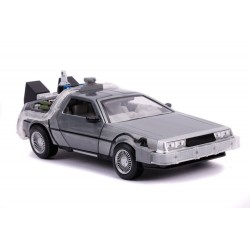 Retour vers le Futur II DeLorean Time Machine 1/24 métal Hollywood Rides