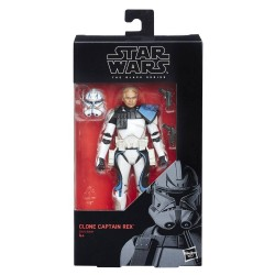 "Figurine Star Wars Black Series 6"" Clone Captain Rex"
