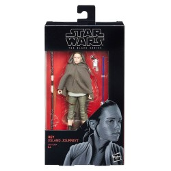 "Figurine Star Wars Black Series 6"" Rey Island Journey"