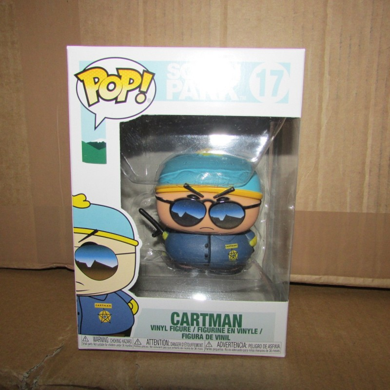 PBA -Figurine Funko Pop South Park Cartman Policier