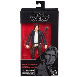 "Figurine Star Wars Black Series 6"" Han Solo Bespin"