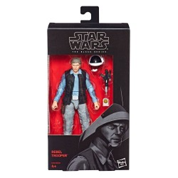 "Figurine Star Wars Black Series 6"" Rebel Soldier"