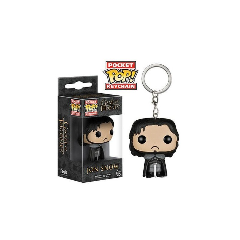 Game of Thrones POP! Vinyl porte-clés Jon Snow 4 cm