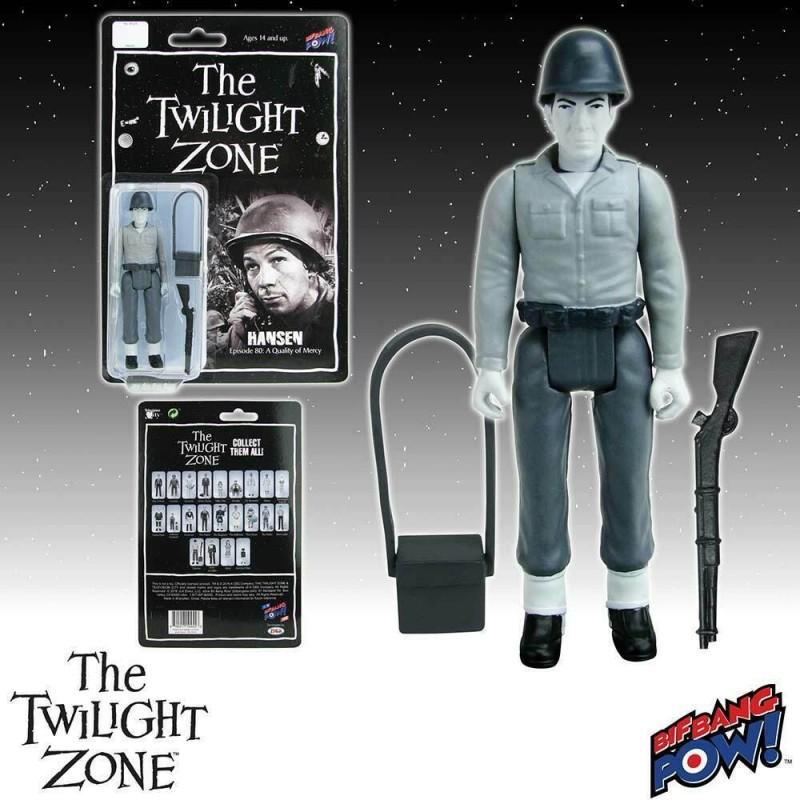 The Twilight Zone Figurine 10 cm Hansen
