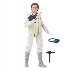"Figurine Star Wars Black Series 6"" Princess Leia Hoth"