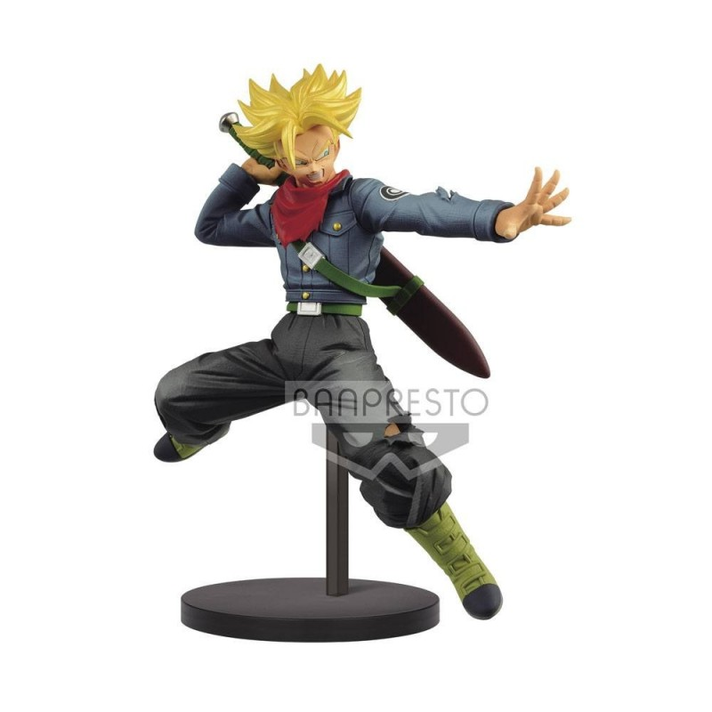 Dragon Ball Super statuette PVC Chosenshiretsuden SSJ Future Trunks 17 cm