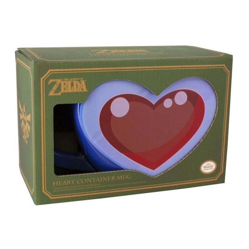 The Legend of Zelda mug Shaped Heart Container