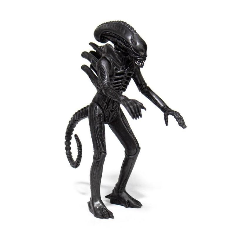 Aliens Wave 1 figurine ReAction Alien Warrior Midnight Black 10 cm