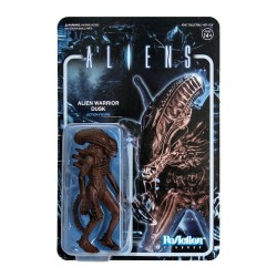 Aliens Wave 1 figurine ReAction Alien Warrior Dusk Brown 10 cm