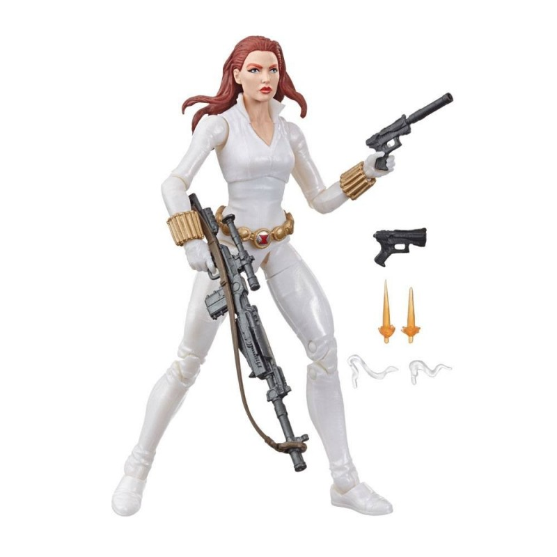 Marvel Legends Series figurine Black Widow White Suit Deadly Origin 15 cm
