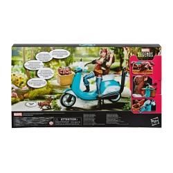 Marvel Legends Series figurine avec véhicule Squirrel Girl 15 cm