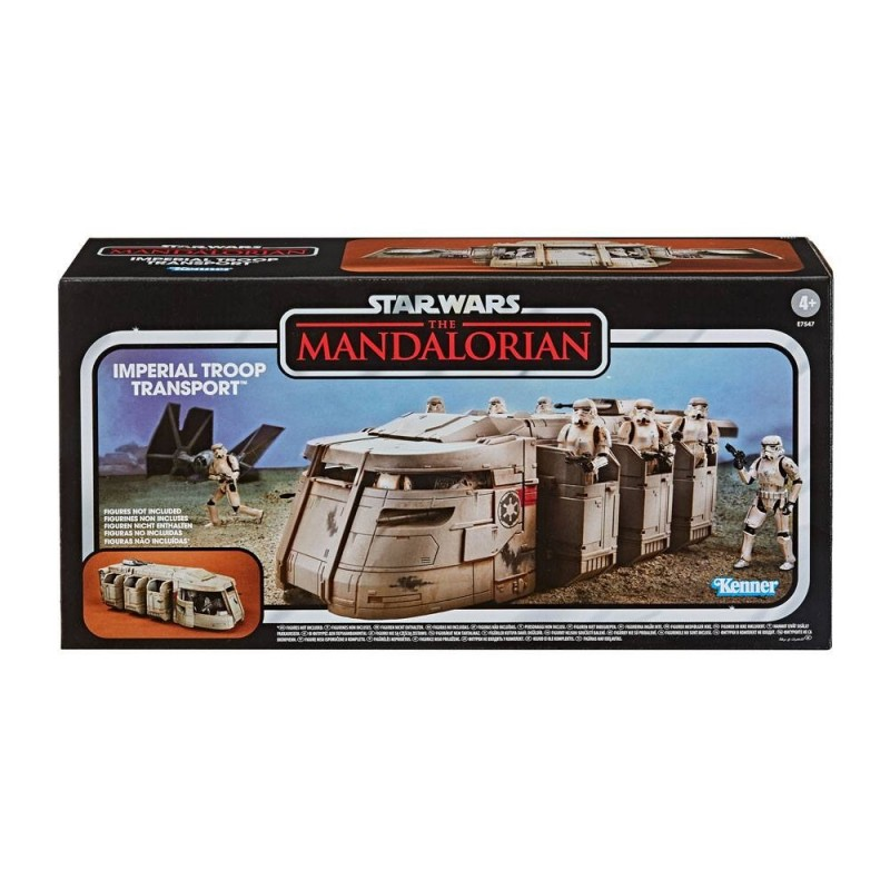 Star Wars The Mandalorian Vintage Collection véhicule Imperial Troop Transport