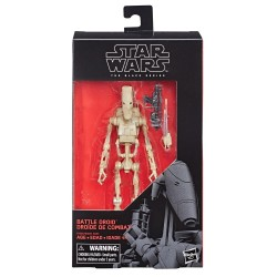 "Figurine Star Wars Black Series 6"" Battle Droid Hasbro Toutes la gamme Black Series"