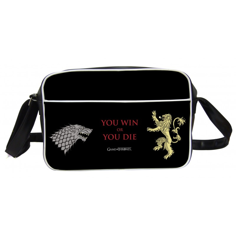 Game of Thrones Sac besace You Win or You Die