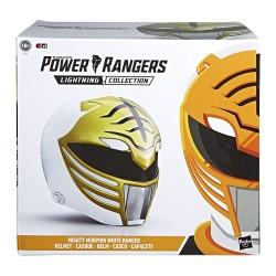 Power Rangers Casque echelle 1/1 Wihte Ranger
