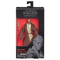 "Figurine Star Wars Black Series 6"" Mace Windu Hasbro Toute la gamme Black Series"
