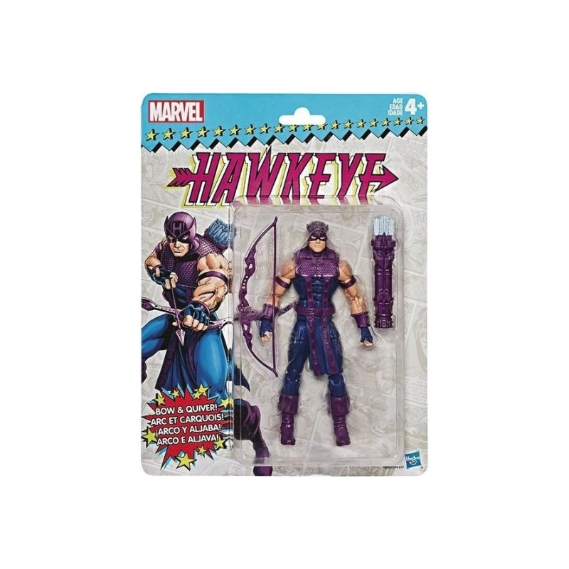 Marvel Legends Figurine Retro 15cm  Hawkeye