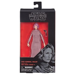 "Figurine Star Wars Black Series 6"" Vice Admiral Holdo Hasbro Toutes la gamme Black Series"