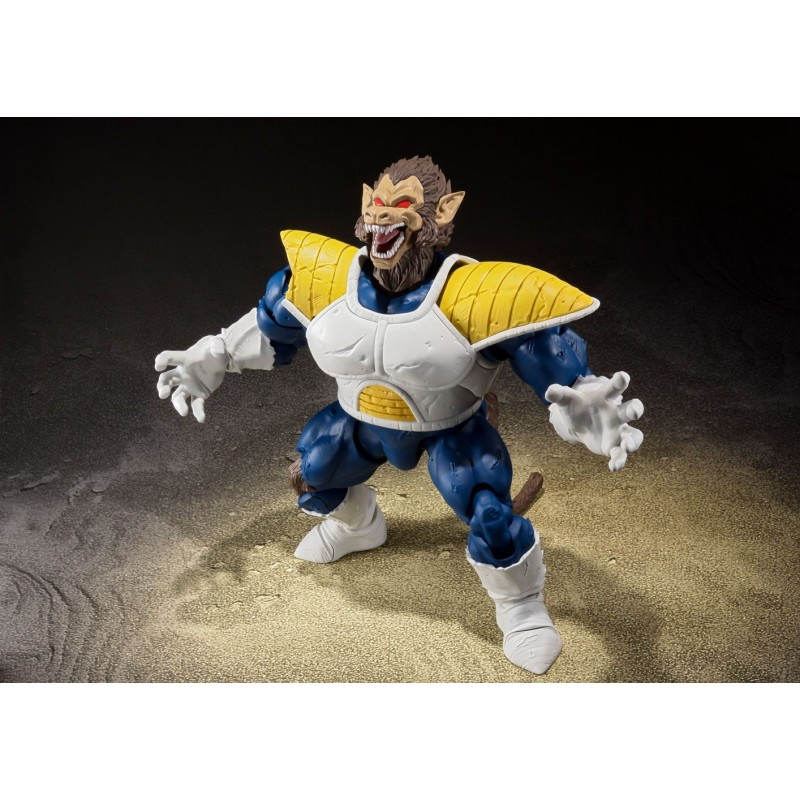 Dragon Ball Z figurine S.H. Figuarts Great Ape Vegeta Tamashii Web Exclusive 35 cm