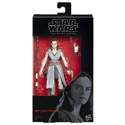 "Figurine Star Wars Black Series 6"" Rey Jedi Training"