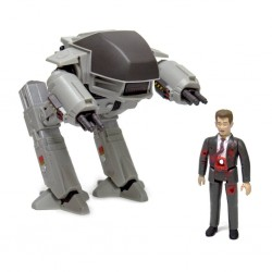 Robocop pack 2 figurines ReAction ED-209 vs. Mr. Kinney