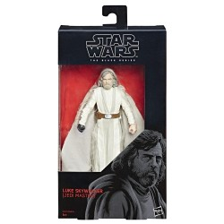 "Figurine Star Wars Black Series 6"" Luke Skywalker Jedi Master"